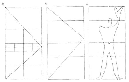 Рис. 5. Ле Корбюзье. Le Corbusier. Mod 1. Модулор 1