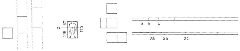 Рис. 12. Ле Корбюзье. Le Corbusier. Mod 1. Модулор 1