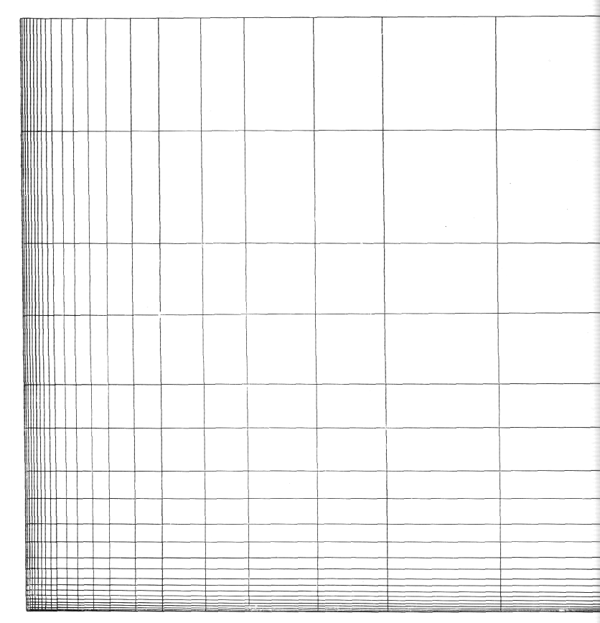 Рис. 24. Ле Корбюзье. Le Corbusier. Mod 1. Модулор 1