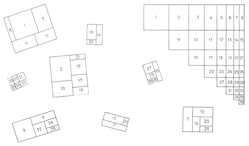 Рис. 26. Ле Корбюзье. Le Corbusier. Mod 1. Модулор 1