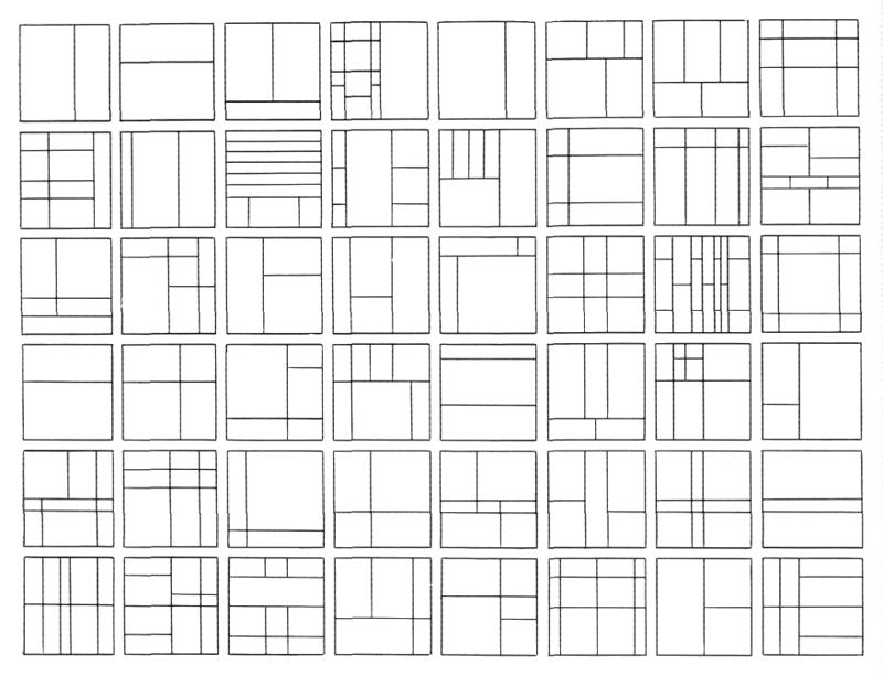 Рис. 29. Ле Корбюзье. Le Corbusier. Mod 1. Модулор 1