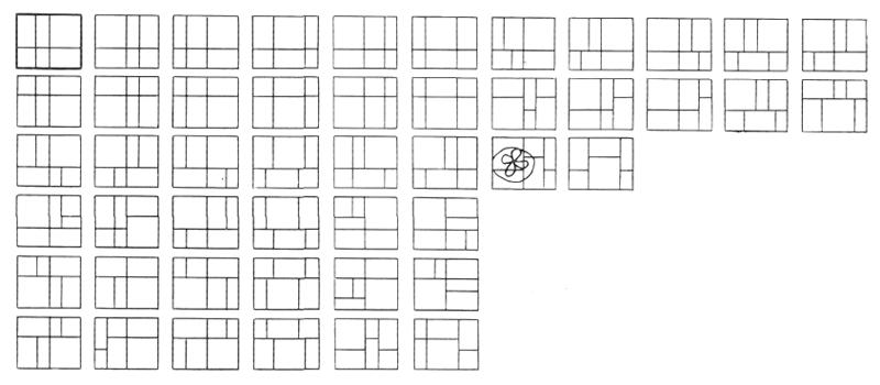 Рис. 32. Ле Корбюзье. Le Corbusier. Mod 1. Модулор 1
