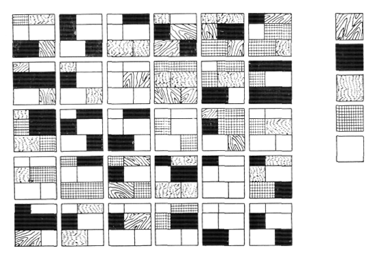 Рис. 33. Ле Корбюзье. Le Corbusier. Mod 1. Модулор 1