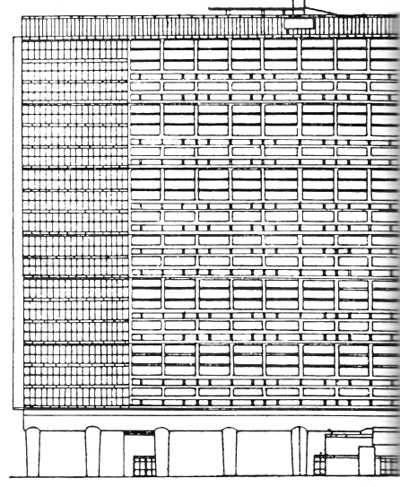 Рис. 36. Ле Корбюзье. Le Corbusier. Mod 1. Модулор 1
