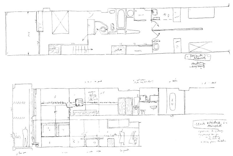 Рис. 37. Ле Корбюзье. Le Corbusier. Mod 1. Модулор 1