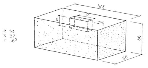Рис. 38. Ле Корбюзье. Le Corbusier. Mod 1. Модулор 1