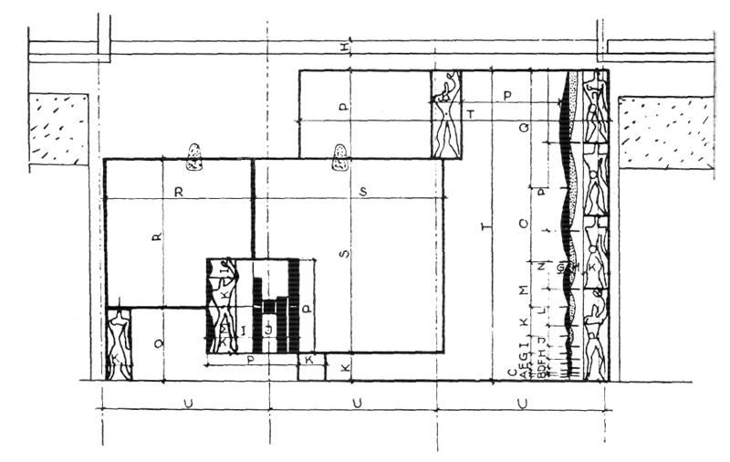 Рис. 42. Ле Корбюзье. Le Corbusier. Mod 1. Модулор 1