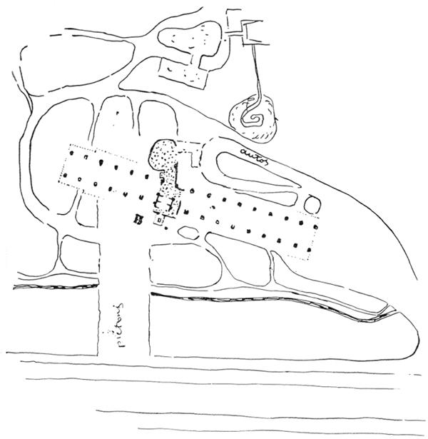 Рис. 43. Ле Корбюзье. Le Corbusier. Mod 1. Модулор 1