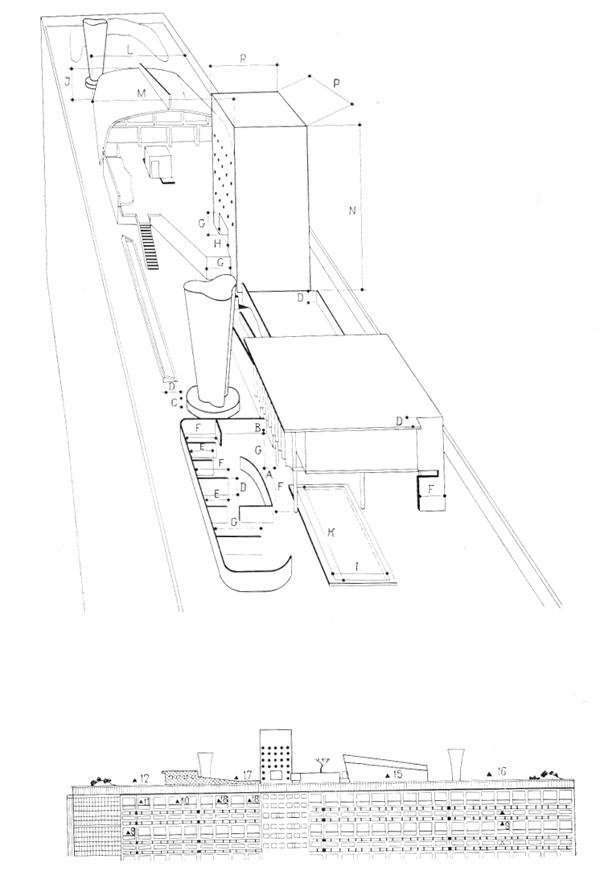 Рис. 44. Ле Корбюзье. Le Corbusier. Mod 1. Модулор 1