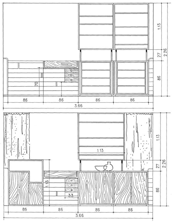 Рис. 47. Ле Корбюзье. Le Corbusier. Mod 1. Модулор 1