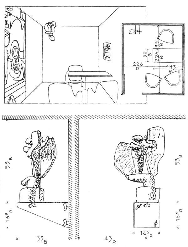 Рис. 48. Ле Корбюзье. Le Corbusier. Mod 1. Модулор 1