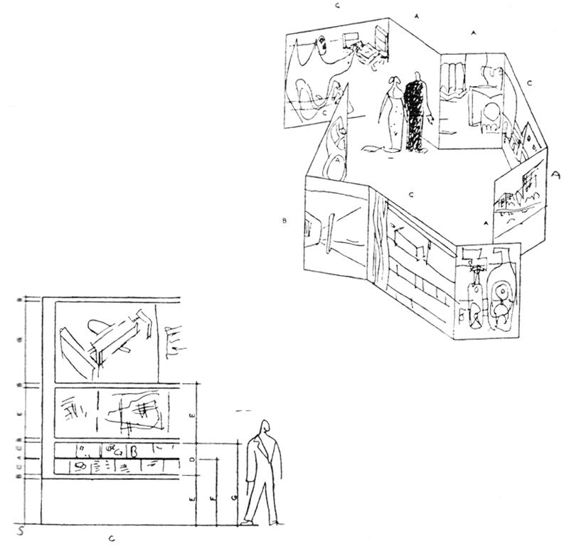 Рис. 49. Ле Корбюзье. Le Corbusier. Mod 1. Модулор 1
