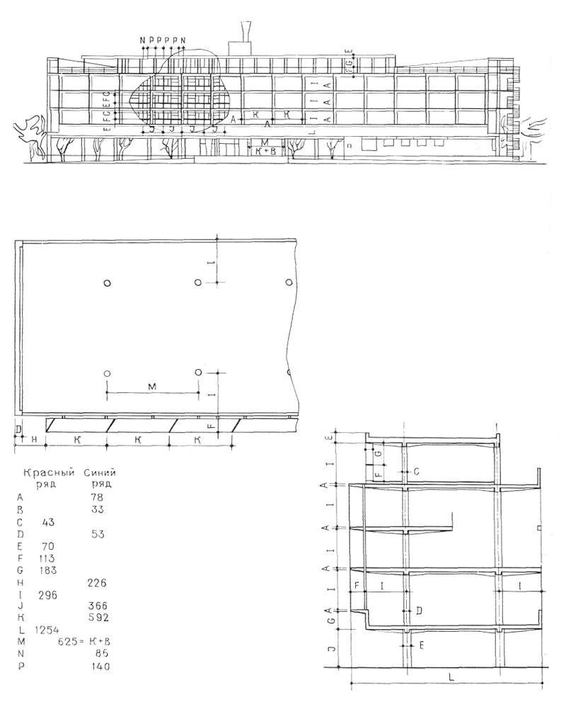 Рис. 50. Ле Корбюзье. Le Corbusier. Mod 1. Модулор 1