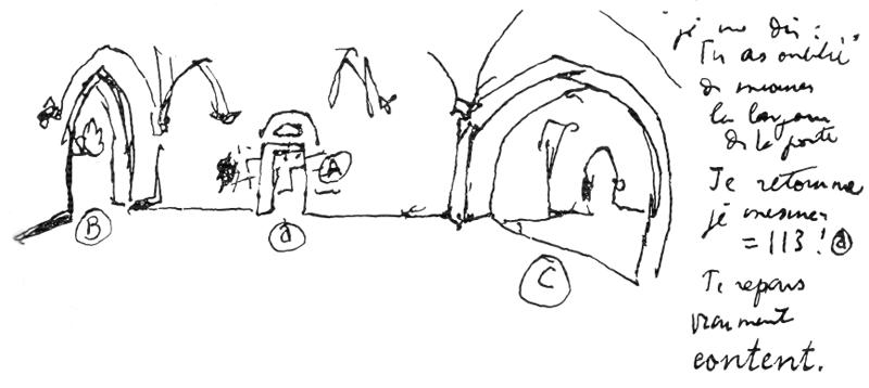 Рис. 51. Ле Корбюзье. Le Corbusier. Mod 1. Модулор 1