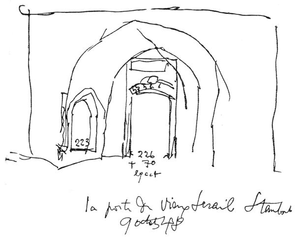 Рис. 53. Ле Корбюзье. Le Corbusier. Mod 1. Модулор 1