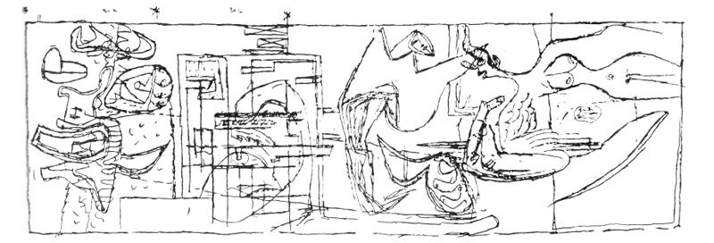 Рис. 54. Ле Корбюзье. Le Corbusier. Mod 1. Модулор 1