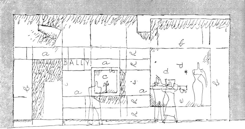 Рис. 57. Ле Корбюзье. Le Corbusier. Mod 1. Модулор 1