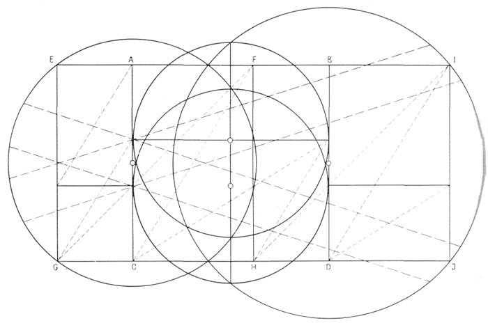 Рис. 58. Ле Корбюзье. Le Corbusier. Mod 1. Модулор 1