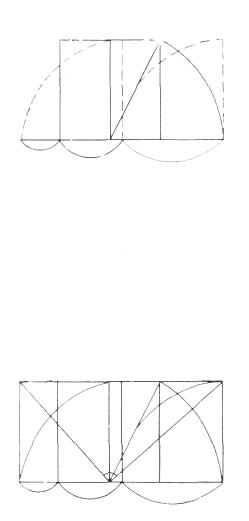 Рис. 1. Ле Корбюзье. Le Corbusier. Mod 2. Модулор 2