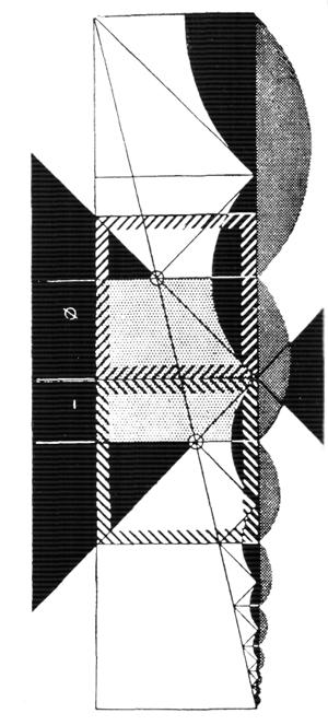 Рис. 3. Ле Корбюзье. Le Corbusier. Mod 2. Модулор 2