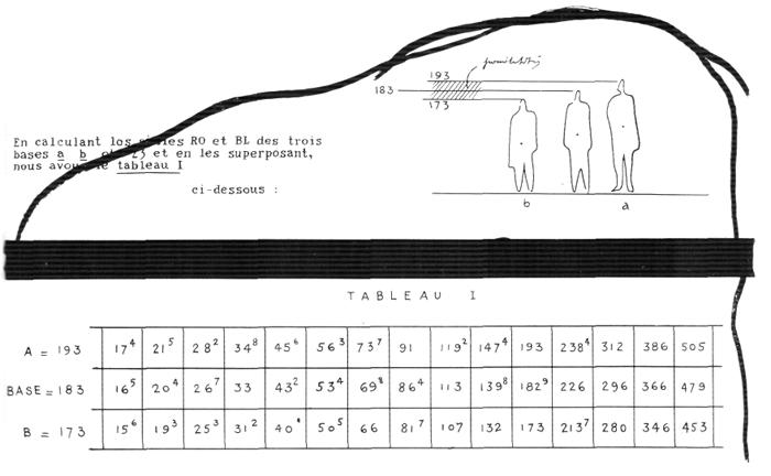Рис. 9. Ле Корбюзье. Le Corbusier. Mod 2. Модулор 2
