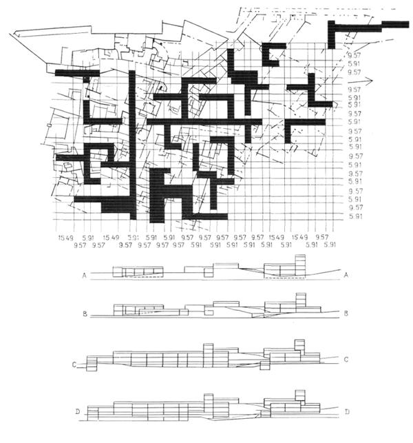 Рис. 10. Ле Корбюзье. Le Corbusier. Mod 2. Модулор 2