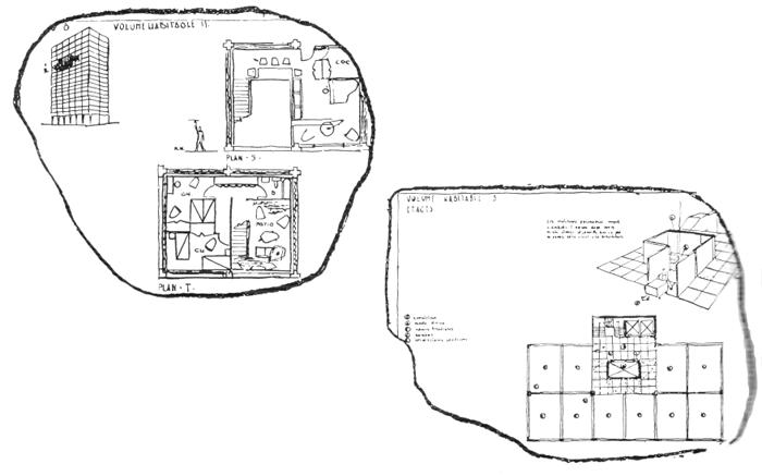 Рис. 12. Ле Корбюзье. Le Corbusier. Mod 2. Модулор 2