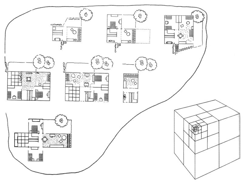 Рис. 16. Ле Корбюзье. Le Corbusier. Mod 2. Модулор 2