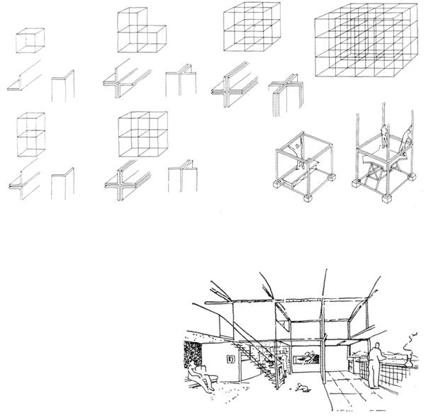 Рис. 17. Ле Корбюзье. Le Corbusier. Mod 2. Модулор 2