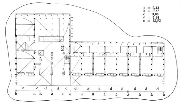 Рис. 27. Ле Корбюзье. Le Corbusier. Mod 2. Модулор 2