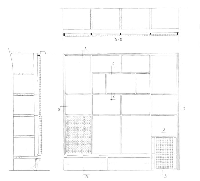 Рис. 31. Ле Корбюзье. Le Corbusier. Mod 2. Модулор 2