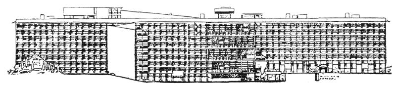 Рис. 33. Ле Корбюзье. Le Corbusier. Mod 2. Модулор 2