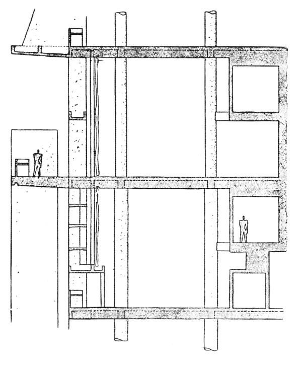 Рис. 34. Ле Корбюзье. Le Corbusier. Mod 2. Модулор 2