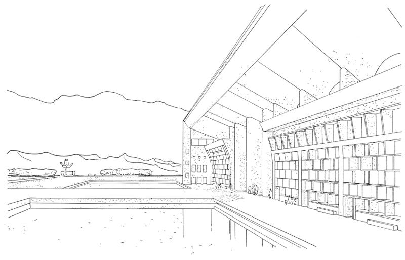 Рис. 37. Ле Корбюзье. Le Corbusier. Mod 2. Модулор 2