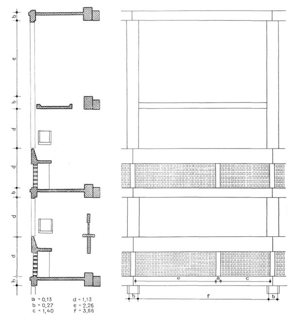 Рис. 43. Ле Корбюзье. Le Corbusier. Mod 2. Модулор 2