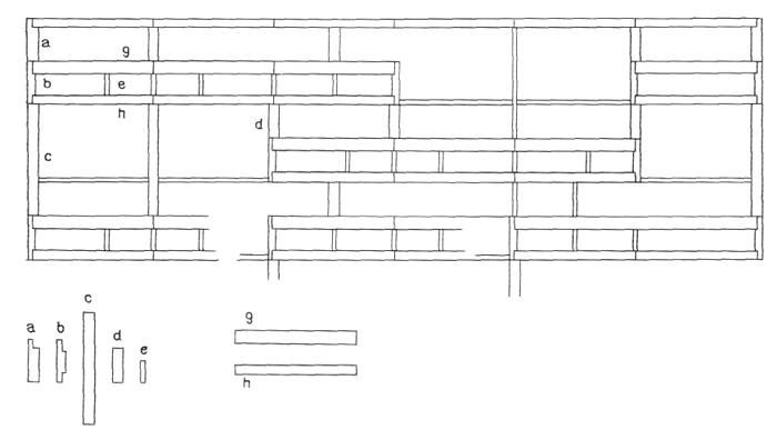 Рис. 44. Ле Корбюзье. Le Corbusier. Mod 2. Модулор 2