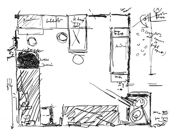 Рис. 45. Ле Корбюзье. Le Corbusier. Mod 2. Модулор 2