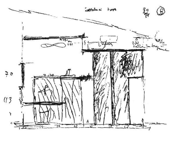 Рис. 46. Ле Корбюзье. Le Corbusier. Mod 2. Модулор 2