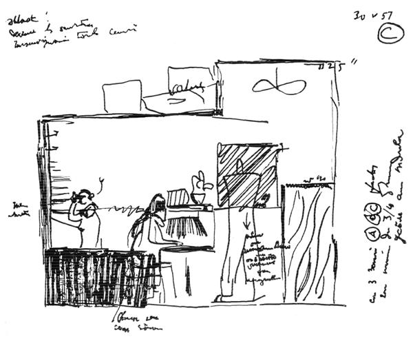 Рис. 47. Ле Корбюзье. Le Corbusier. Mod 2. Модулор 2