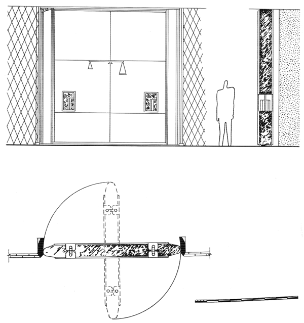 Рис. 50. Ле Корбюзье. Le Corbusier. Mod 2. Модулор 2