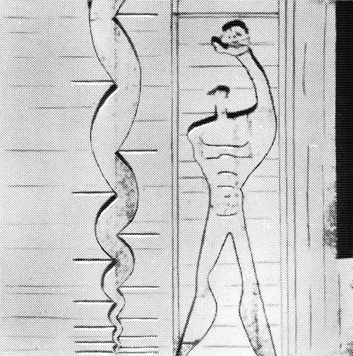 Рис. 51. Ле Корбюзье. Le Corbusier. Mod 2. Модулор 2