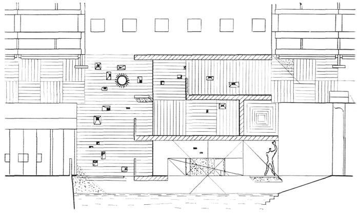 Рис. 52. Ле Корбюзье. Le Corbusier. Mod 2. Модулор 2