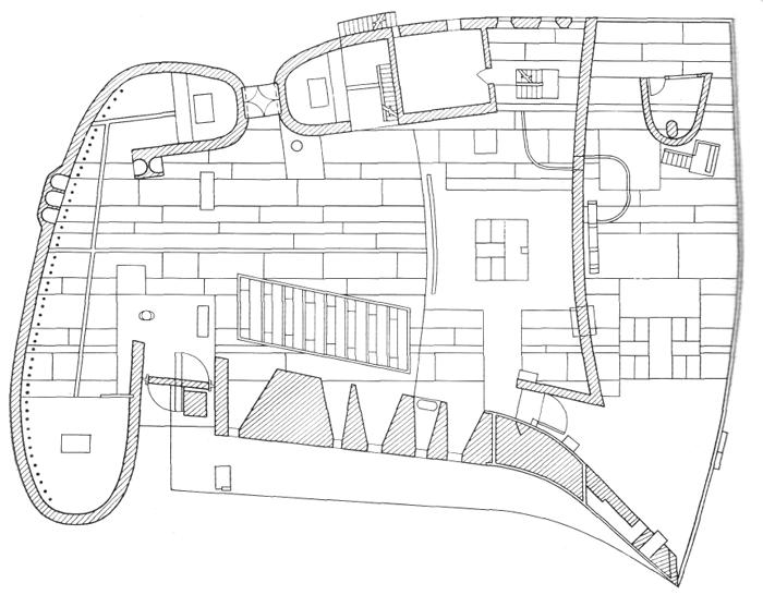 Рис. 55. Ле Корбюзье. Le Corbusier. Mod 2. Модулор 2