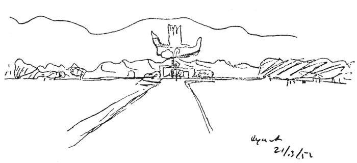 Рис. 56. Ле Корбюзье. Le Corbusier. Mod 2. Модулор 2