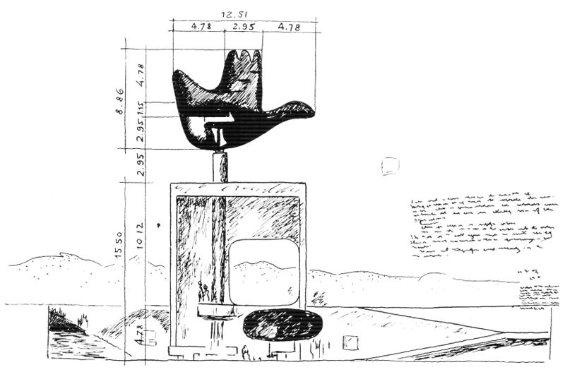Рис.60. Ле Корбюзье. Le Corbusier. Mod 2. Модулор 2
