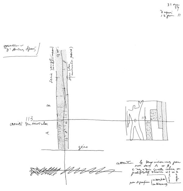 Рис. 66. Ле Корбюзье. Le Corbusier. Mod 2. Модулор 2
