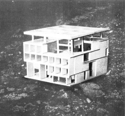 Рис. 67. Ле Корбюзье. Le Corbusier. Mod 2. Модулор 2